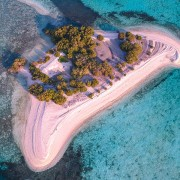 Secret Island surrounding by Crystal clear water thumbnail