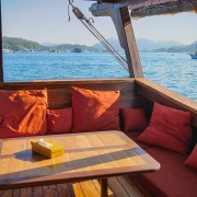 Lounge area cruise Raja Ampat with Dive Concepts thumbnail
