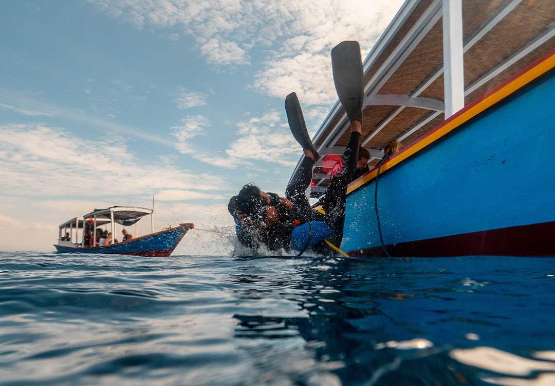 Open Water Course in Pemuteran and Menjangan