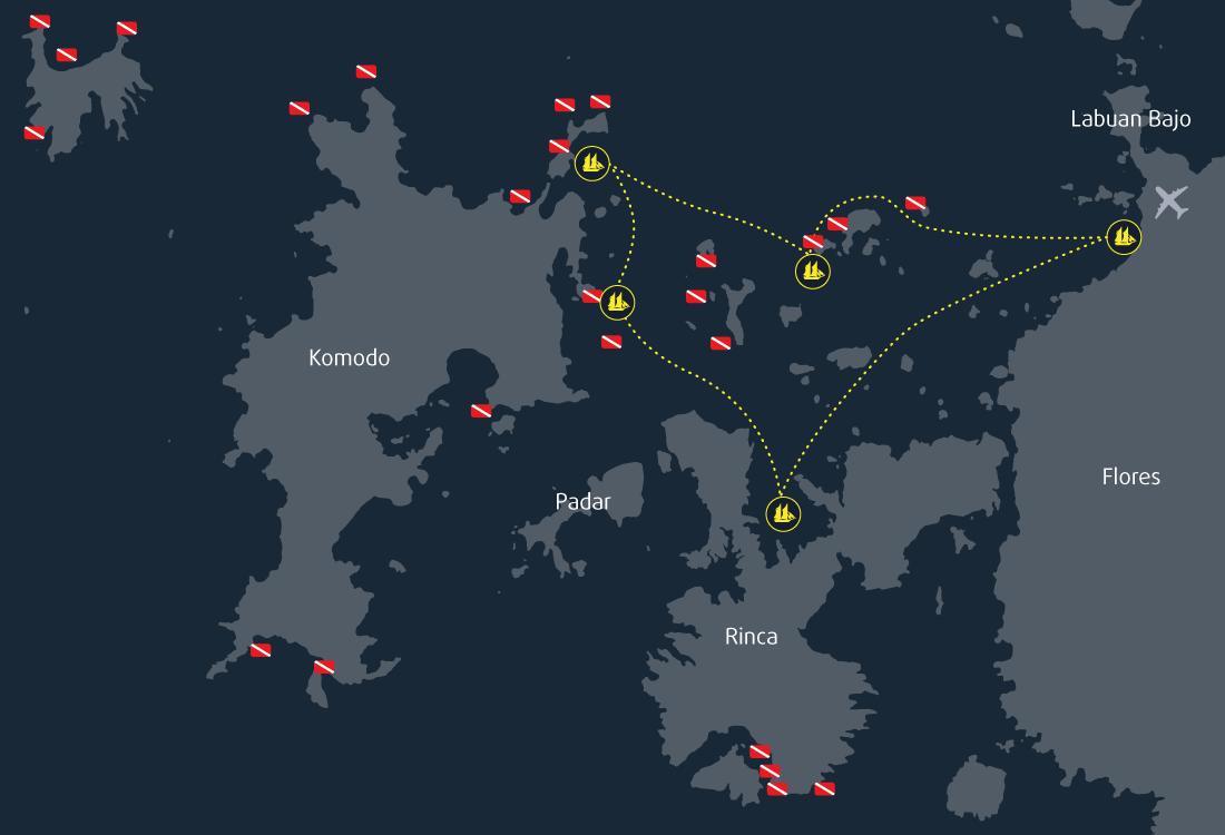 5 Days 4 Nights Cruise Itinerary Komodo
