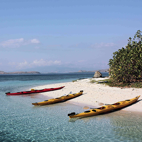 Komodo National Park Kayaking