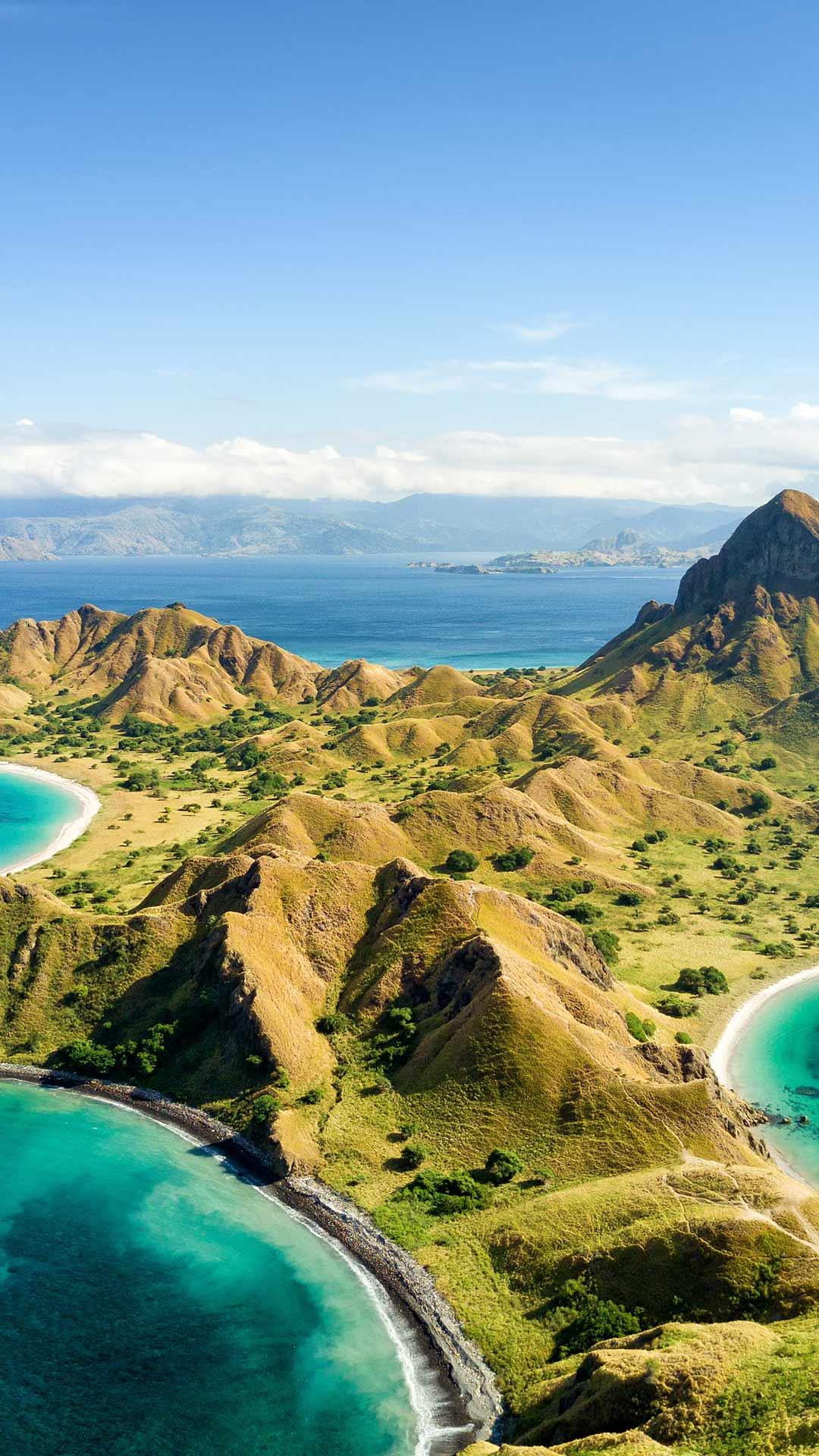 Padar Island Wonderful Komodo Landscape