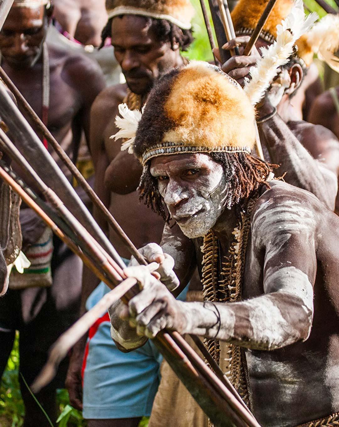 Papua Asmat Tribe