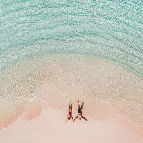Pink Beach in Komodo National Park