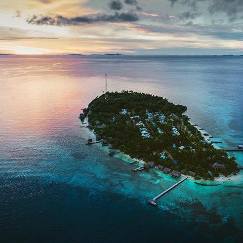 Raja Ampat Arborek Island