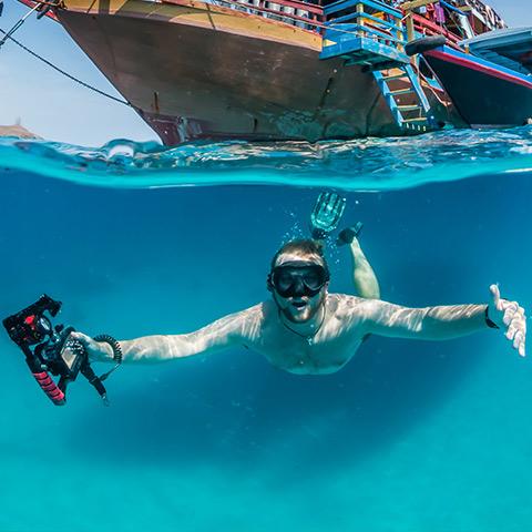 Snorkeling in Komodo Pristine Waters
