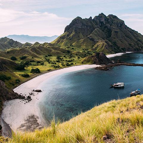 View from Pulau Padar