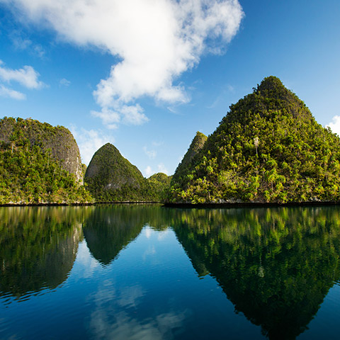 Wayag Karst Islands